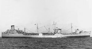 USS Passumpsic (AO-107) - USS Passumpsic as built