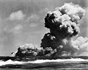 USS Wasp (CV-7) burning on 15 September 1942 (fsa.8e00768)