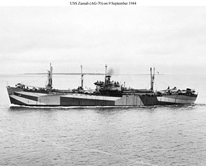 USS Zaniah (AK-120) - Image: USS Zaniah (AG 70)