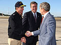US Navy 030213-N-0874H-002 President Bush arrives at Naval Station Mayport, Florida.jpg