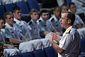 US Navy 060517-N-2383B-201 Chief of Naval Operations (CNO) Adm. Mike Mullen speaks to the graduating class of Midshipmen at the U.S. Naval Academy's Alumni Hall.jpg
