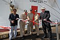 US Navy 070815-N-8704K-106 conducting a ceremonial ribbon cutting to commemorate Comfort's arrival in Ecuador.jpg