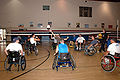 US Navy 081024-N-5086M-142 Wheelchair volleyball participants enjoy a game.jpg