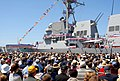 US Navy 090418-N-0000V-001 The guided-missile destroyer USS Stockdale (DDG-106) is commissioned at Naval Base Ventura County Port Hueneme.jpg