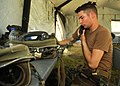 US Navy 100519-N-9564W-036 Equipment Operator Constructionman Jonathan Horner, assigned to Naval Mobile Construction Battalion (NMCB) 74, Alfa Company,.jpg