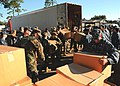 US Navy 101105-N-6781V-001 Sailors unload supplies to be given to veterans during the VA Stand-Down in Biloxi, Miss.jpg