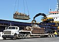 US Navy 101122-N-8241M-014 The cargo ship MV Sydney Marie takes on scrap metal at Naval Station Guantanamo Bay, Cuba.jpg