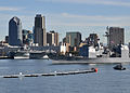 US Navy 101130-N-0981M-114 The guided-missile cruiser USS Bunker Hill (CG 52) transits San Diego Harbor to participate in a composite training unit.jpg