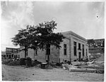 US Post Office being built in Kinston, NC. Date of this photo is 2 August 1915. From Coble's Art Studio Photograph Collection, PhC.190, State Archives of North Carolina. (9617354142).jpg