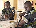 Ugandan service members practice using combat application tourniquets during exercise Cutlass Express 2013 at the Port of Djibouti in Djibouti Nov. 13, 2013 131113-F-NJ596-013.jpg