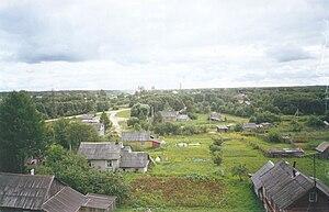 Uglovka, Novgorod Oblast - A panorama of Uglovka