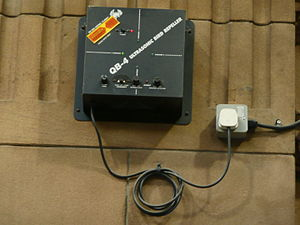 Animal repellent - Ultrasonic bird repeller