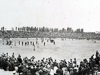 Valencia CF - Match at Mestalla in 1923