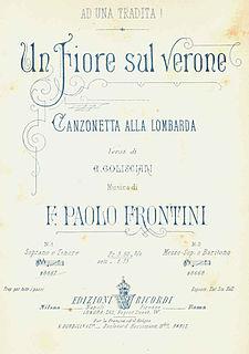 Enrico Golisciani Italian librettist and poet