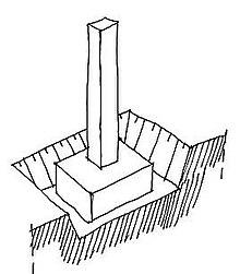 fondation construction wikip dia. Black Bedroom Furniture Sets. Home Design Ideas