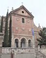 Universidad de Alcalá (RPS 25-08-2007) Colegio-convento de los Trinitarios Descalzos, fachada.png