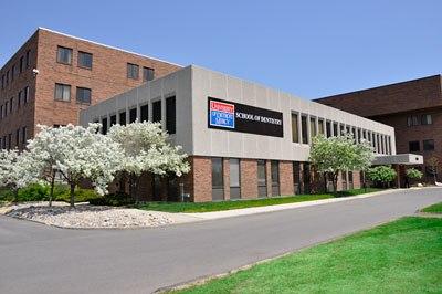 University of Detroit Mercy Corktown Campus exterior 2012
