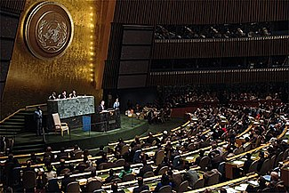 The United Nations is responsible for much of the current framework of international law