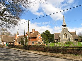 Upper Woolhampton, C of E Church and C of E School - geograph.org.uk - 2732.jpg