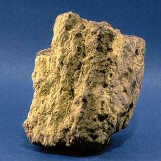 Actinide - Unprocessed uranium ore