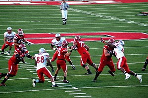 Utah Utes football - Utah offense versus New Mexico in 2009