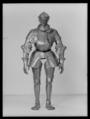 Vänster handske till Gustav Vasas rustning 1540 - Livrustkammaren - 17330.tif