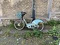 Vélo Vélib' Rue Cheval Rû Fontenay Bois 1.jpg