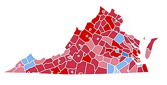 1984 United States presidential election in Virginia - Image: VA1984