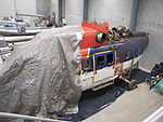 VH-LAG Super Puma Helicopter in Storage at Winnellie in August 2011 (2).jpg
