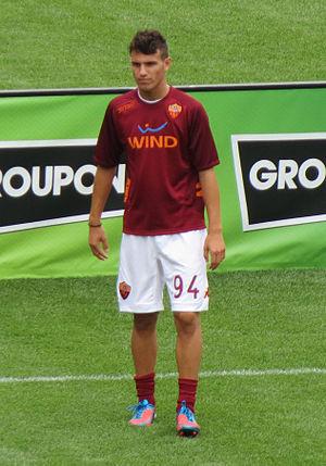 Valerio Verre - Valerio Verre with Roma in 2012