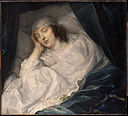 Van Dyck, Sir Anthony - Venetia, Lady Digby, on her Deathbed - Google Art Project.jpg