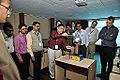 Van de Graaff Generator Experimentation - Indo-Finnish-Thai Exhibit Development Workshop - NCSM - Kolkata 2014-11-27 9735.JPG