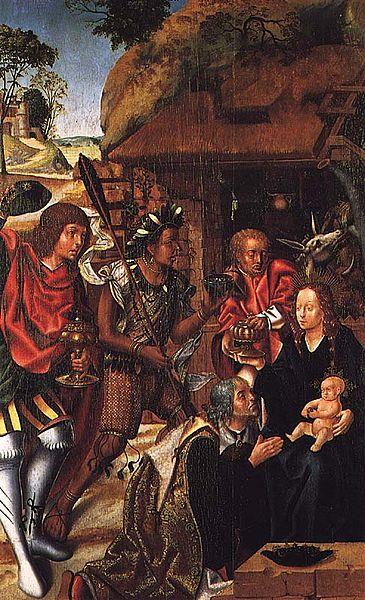 Schilderij van 'driekoningen'