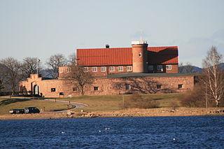 Norske Løve Fortress Fort in Horten, Norway
