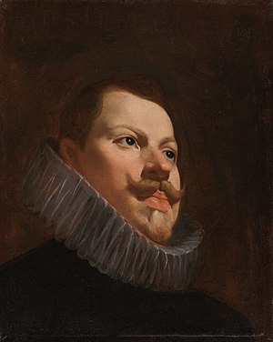 Philip III of Spain - Portrait by Diego Velázquez, 1627