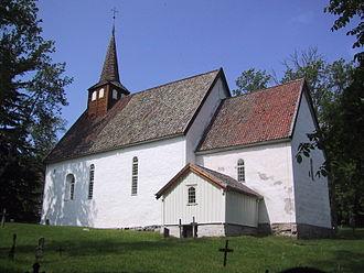 Jens Stub - Old Veøy Church on Veøya