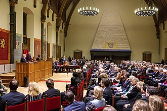 Politics of the Netherlands - Joint session of the States General in the Ridderzaal, 2013