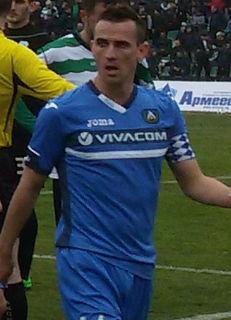Veselin Minev Bulgarian footballer