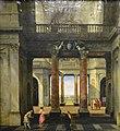 Vestibule d'un palais - Isaak van Nickelen - Musée du Louvre.jpg