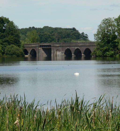 Viaduct over Swithland Reservoir - geograph.org.uk - 516210
