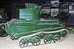 Vickers Light Tank, Land Warfare Hall, Imperial War Museum, Duxford. (22831934448).jpg
