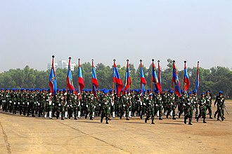 Bangladesh Army - Victory Day Parade, 2012. National Parade ground, Dhaka, Bangladesh