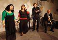 Vienna 2013-11-21 Porgy+Bess - RAU sound recording, fr. l, Felber-Armakan, Hasib, Groysbeck, Novotny.jpg