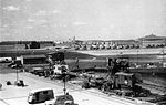 View from the pier towards Naval Air Station Quonset Point in 1946.jpg