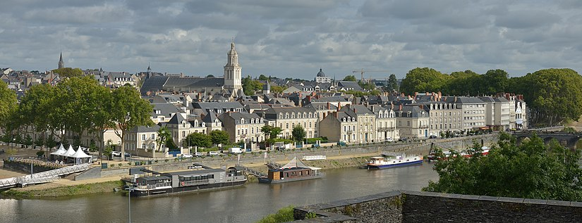 View of Angers and the Maine river View of Angers on the Maine river from the castle.jpg