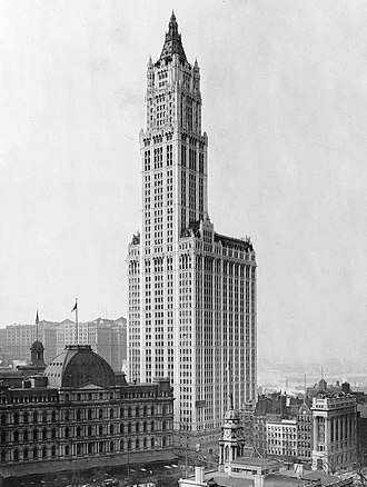 Woolworth Building - Woolworth Building c.1913
