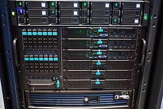 Viglen - Image: Viglen blade servers