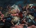 Vilhelm Lundstrøm, Copy after Rubens, The death of Decius Mus (Prado, Madrid), c. 1920, 0193NMK, Nivaagaards Malerisamling.jpg