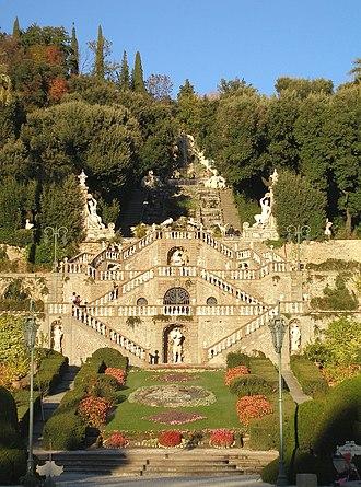 Italian Renaissance garden - Gardens of Villa Garzoni