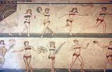 4de eeuw Roman mozaïek